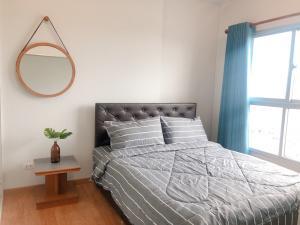 For RentCondoBang kae, Phetkasem : Condo for rent, Parkland Petchkasem, 35 sq.m., 1 bedroom, beautiful decoration, ready to move in.
