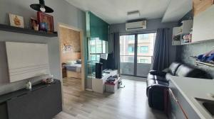 For SaleCondoRama 2, Bang Khun Thian : PN0813 for sale Ease Rama 2 project, behind Central Rama 2, very new room, rarely live, all built-in furniture