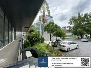 เช่าสำนักงานพระราม 9 เพชรบุรีตัดใหม่ : Office spaces for RENT 30 +Parking space [MRT Petchaburi]  พื้นที่สำนักงานให้เช่าที่จอดรถมากกว่า 30 คัน