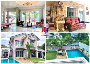 For RentHouseRamkhamhaeng, Hua Mak : House for rent with swimming pool 107 sq.wa. Tararom Ramkhamhaeng 150 near Triam Udom Nom Klao BTS station.