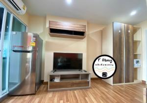 For RentCondoBang Sue, Wong Sawang : ให้เช่า 🌈 ห้องสวยโทนอบอุ่น วิวโล่ง เครื่องใช้ไฟฟ้าครบ 🤩ห้องหมายเลข 555 อยู่แล้วมีความสุข🤩#รีเจ้นท์โฮมบางซ่อน27 ❤️ค่าเช่า 7,000 บาท