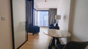เช่าคอนโดพระราม 9 เพชรบุรีตัดใหม่ : [ Condo For Rent ] Ashton Asoke - Rama9 , MRT Rama 9, 1 Bedroom 46 sq.m., Nice view