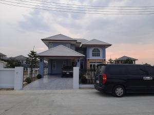 For SaleHouseSuphan Buri : Quick sale, 2-storey house, 122 square meters, Phai Khwang Subdistrict, Suphan Buri Province, ready to transfer for free ✅