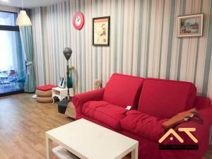 For RentCondoKaset Nawamin,Ladplakao : For rent Baan Navatara 2Bed, size 70 sq.m., Beautiful room, fully furnished.
