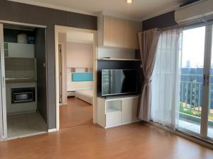 For RentCondoRattanathibet, Sanambinna : For rent, Lumpini Park Rattana, large size, corner room.