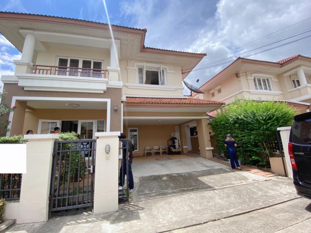 For RentHousePattanakan, Srinakarin : House for rent, 2 floors, Krong Thong Village, Villa Park, Rama 9, Srinakarin, Soi Krungthep Kreetha 7.