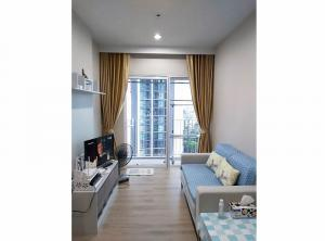 For SaleCondoBang Sue, Wong Sawang : Condo Amber by Eastern Star @MRT Yaek Tiwanon 35 sq.m 1Bed 18th floor, Clear View, Fully furnished