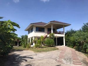 ขายบ้านชัยภูมิ : ขายบ้านพร้อมที่ดิน(วิวดีมากก) อยู่ห่างจากถนนใหญ่400เมตร หน้าบ้าน เป็นสวนอาหาร สามารถค้าขายได้