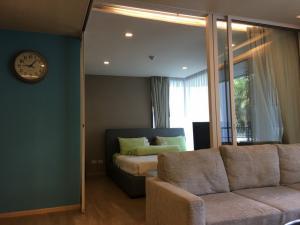 For SaleCondoCha-am Phetchaburi : Condo for sale, Baan San Kraam, Hua Hin-Cha-am, 2 bedrooms, sea view from the balcony.