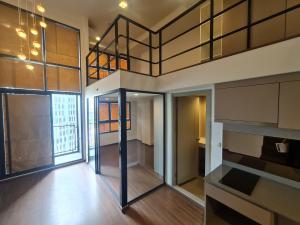 For SaleCondoRama9, RCA, Petchaburi : 2 bedrooms Hybrid last 3 rooms ideo new rama9