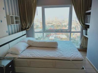 For RentCondoThaphra, Wutthakat : LC-R445 🏢 Bangkok Horizon Ratchada-Thapra Project Ratchada-Thapra Rd., Bukkhalo, Thonburi, Bangkok 🏢 17th floor, city view, usable area 28.54 sq.m., fully furnished.