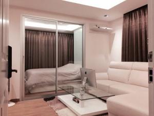For RentCondoRama3 (Riverside),Satupadit : For rent, corner room, 25th floor, river view, elegant decoration, free WIFI TrueFiber (500mbps/500mbps)
