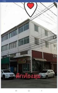 For SaleShophouseRangsit, Patumtani : Sell commercial office building, decorated well Built in, corner room, Benjasub project Rangsit-Nakhon Nayok Khlong 6