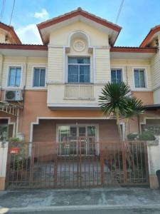 For SaleTownhouseSamrong, Samut Prakan : Quick sale, cheap sale, townhome, The Connect Village, King Kaew 43, special price