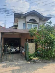 For SaleHouseRangsit, Patumtani : Selling twin houses at Supalai Thani Village, Lam Luk Ka Klong 4, special price below the market price.