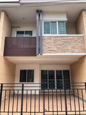 For RentTownhouseRangsit, Patumtani : Urgent ❗❗ Townhome for rent, 2 floors, The Living Rangsit, Tiwanon