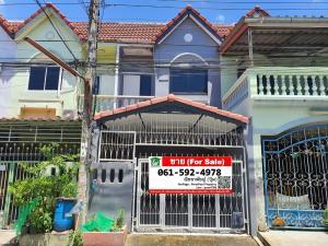 For SaleTownhouseBang kae, Phetkasem : TownHouse for Sale++Baan Kao Watthana Villa, renovated, ready to move in, near the canal road