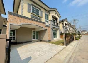 เช่าบ้านท่าพระ ตลาดพลู : For Rent ให้เช่าบ้านเดี่ยว 2 ชั้น หมู่บ้านใหม่ โครงการใหม่ หมู่บ้าน โกลเด้น นิโอ โครงการ 3 พระราม 2 - กัลปพฤกษ์ ถนนกัลปพฤกษ์ บ้านใหม่ ไม่เคยอยู่ ติดแอร์ ผ้าม่านทั้งหลัง อยู่อาศัย