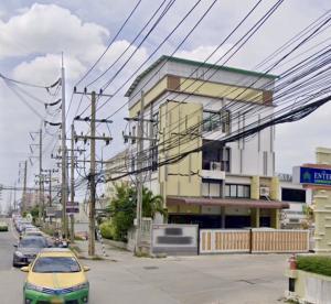 For SaleFactoryLadkrabang, Suwannaphum Airport : Selling a jewelry factory Near Jemo Anthanee Market, 160 sq m, on the main road, 4 lanes, Soi Kanchanaphisek 39, King Kaew 25/1