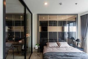 For RentCondoRama9, RCA, Petchaburi : Condo for rent Life Asoke BA21_06_042_02 beautiful room, look expensive, complete electrical appliances, special price 19,999 baht