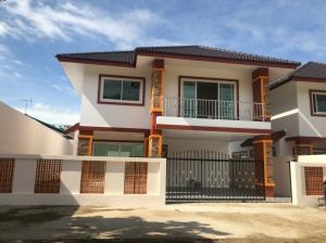 For SaleHouseChiang Mai : C5MG100333 New two-storey house for sale with 3 bedrooms and 3 bathrooms, 46.5 sq.wa.