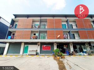 For SaleShophousePattaya, Bangsaen, Chonburi : Commercial building for sale Nine Casar Project, Sriracha, Chonburi