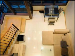 For RentCondoSukhumvit, Asoke, Thonglor : Ready move in near BTS Phromphong! Condo for rent The Emporio place Duplex 1 bedroom 2 bathroom 83 sq.m. Floor 28