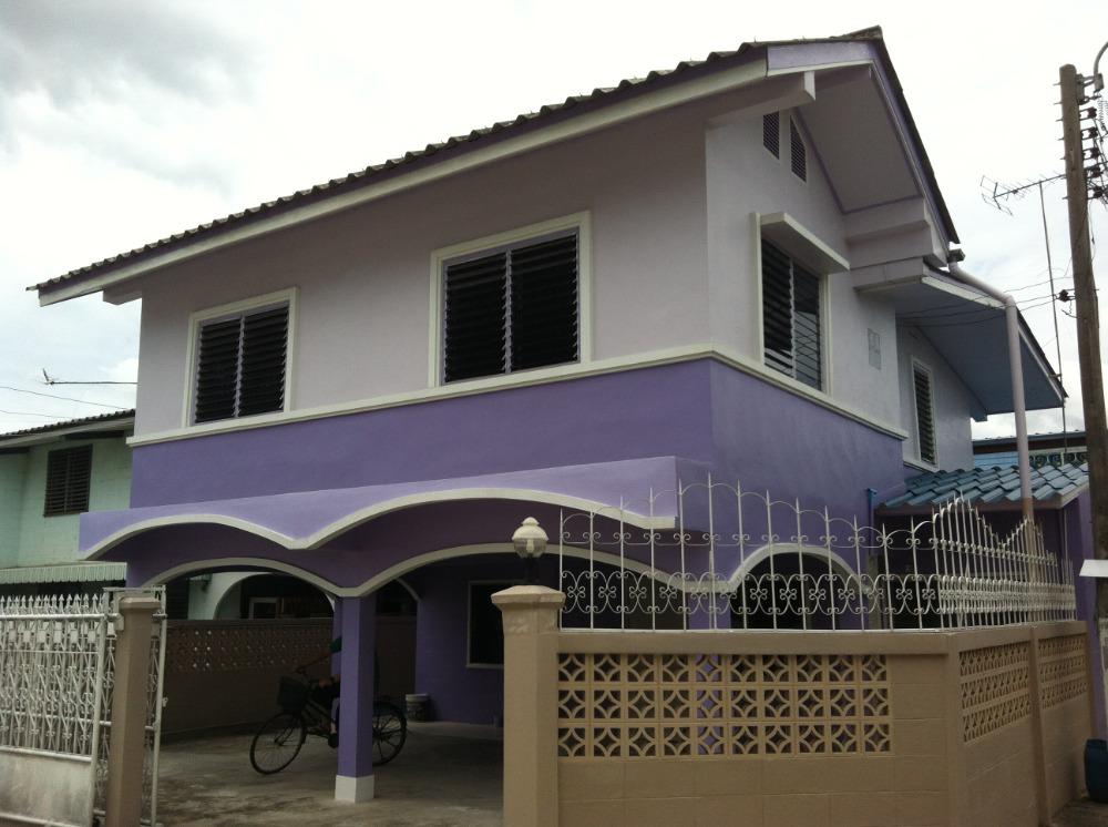 For RentHouseLadkrabang, Suwannaphum Airport : 2 storey house near Suvarnabhumi Airport, King Mongkut//'s Institute of Technology Lat krabang