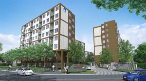 For RentCondoRattanathibet, Sanambinna : Beautiful room, good view, convenient transportation, ready to move in