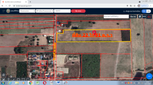 For SaleLandKamphaeng Phet : Land for sale 22 rai 1 ngan 81 sq m. (Chanote title deed 4.) 250,000 per rai at Khlong Mae Lai Subdistrict. Mueang Kamphaeng Phet District, beautiful plains, not steep hills, good soil, water and electricity are in the village Suitable for building a resi