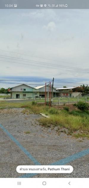 ขายที่ดินนครนายก : ขายที่ดิน 2 ไร่ 2 งาน 17 ตร.วา ทำเลทอง คลอง14 ธัญบุรี มีโรงงาน และบ้านสร้างใหม่มีสระว่ายน้ำ