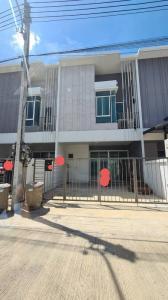 ขายทาวน์เฮ้าส์/ทาวน์โฮมนครปฐม พุทธมณฑล ศาลายา : [ขาย] ทาวน์เฮ้าส์ 2 ชั้น มบ.City Sense Salaya พื้นที่ใช้สอย 120 ตร.ม. (ที่ดิน 18.1 ตร.วา) หันหน้าทิศใต้ รับลม รับทรัพย์ หน้ากว้าง 5 ม., จอดรถได้ 2 คัน, 3 ห้องนอน, 2 ห้องน้ำ