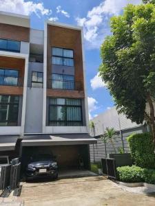 For SaleHouseYothinpattana,CDC : Arden Ladprao 71 modern loft style home corner unit with private little garden near Ladprao-Ramintra