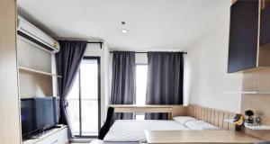 For RentCondoRama9, Petchburi, RCA : For Rent Rhythm Asoke - Studio , size 22 sq.m., Beautiful room, fully furnished.