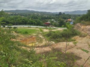 For SaleLandLamphun : Land for sale on Phaholyothin 106 road, beautiful mountain view.