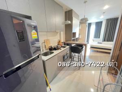 For RentCondoRatchathewi,Phayathai : For rent Rhythm rangnam Studio 28 square meters special price