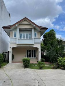 For SaleHouseOnnut, Udomsuk : Beautiful detached house for sale, ready to move in, very good location, with land 94.5 sq m., Sukhumvit 62, Bang Chak, AN203