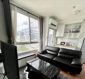 For RentCondoThaphra, Wutthakat : C277 Condo for rent, The Parkland Ratchada-Thapra (2 TVs, 17th floor, size 36 sq.m.)