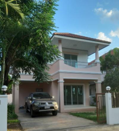 ขายบ้านขอนแก่น : ขายบ้านเดี่ยว 2 ชั้น 3ห้องนอน 2ห้องน้ำ เนื้อที่ 59 ตร.ว. หมู่บ้านพรสิริ ต.บ้านเป็ด เมืองขอนแก่น