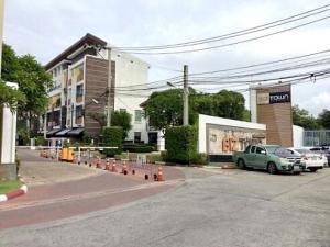 For SaleHome OfficePattanakan, Srinakarin : 4 storey home office for sale near Seacon Square Sri Udom BTS Station (Yellow Line) Bistown Srinakarin 46/1