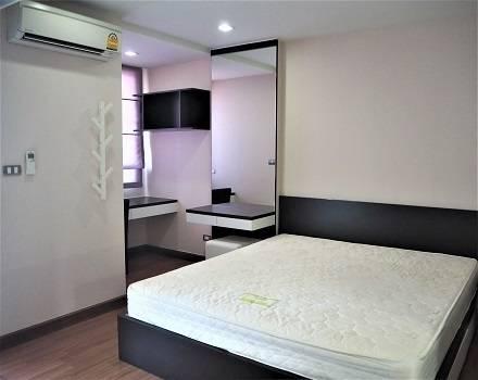 For RentCondoSukhumvit, Asoke, Thonglor : SK03309 Tree Condo Ekamai for rent, size 40 sq m., 3rd floor ** BTS Ekamai **