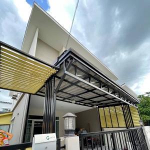 For SaleTownhouseNakhon Pathom, Phutthamonthon, Salaya : Selling Gusto Petchkasem - Thawi Watthana, 28.8 sq wa, already added, ready to live in 4.4 million.