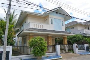 For SaleHouseChiang Mai : Sell / rent 2 storey detached house. near Chiang Mai Airport