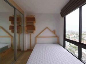 For RentCondoKasetsart, Ratchayothin : For rent Niche Mono Ratchavipha, fully furnished, city view