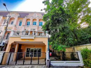 For RentTownhouseThaphra, Wutthakat : Townhome for rent, 3 floors, 48 sq.m., Urban Sathorn project, behind the corner, next to the garden, 4 bedrooms, 5 bathrooms, with built-in furniture.