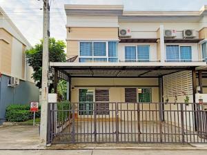 For RentTownhouseRangsit, Patumtani : ⚡⚡ For rent, a new house, Novo Ville, Ring Road - Lam Luk Ka Klong 5 near Chalong Rat Expressway Easy access to the city 🎉