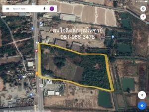 For SaleLandChaiyaphum : Land for sale in Khok Din Daeng, Chaiyaphum Province.