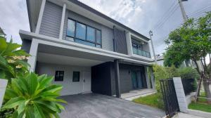 For SaleHouseBangna, Lasalle, Bearing : LBH0185 Single house behind the corner of Centro Bangna Km.7 project near Mega Bangna.