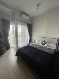 For RentCondoRatchadapisek, Huaikwang, Suttisan : For rent, Ideo Ratchada-Sutthisan, 6th floor, 3 meters high ceiling, unblocked view, near MRT Sutthisan