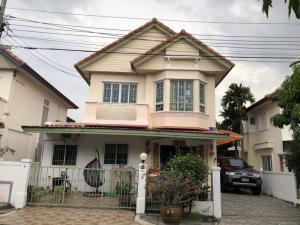 For RentHouseNawamin, Ramindra : house for rent Chuan Chuen City Village Watcharaphon-Ramintra AOL-F81-2106004150